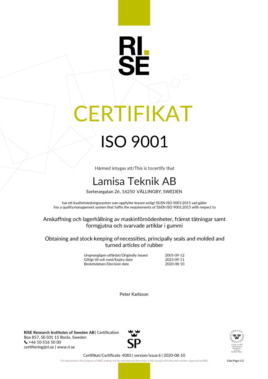 ISO 9001 2020